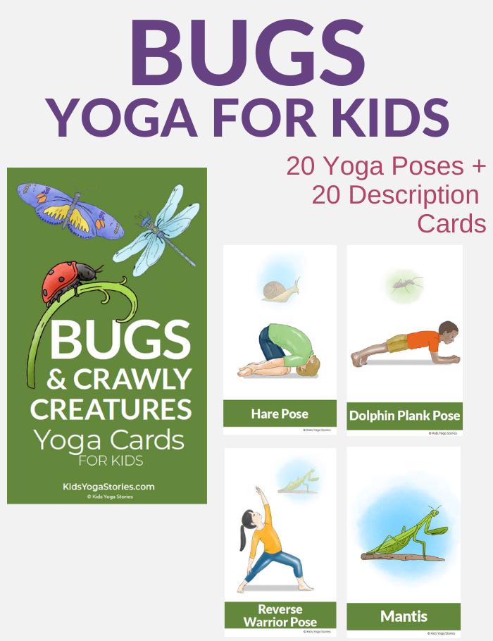 Bug yoga poses for kids | Kids Yoga Stories