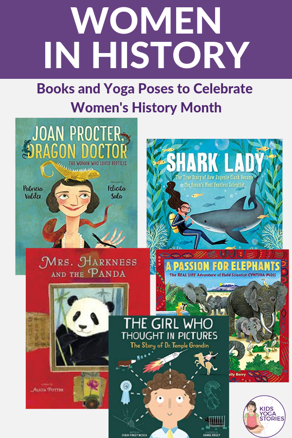 women in history month book ideas | Kids Yoga Stories