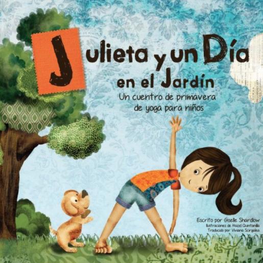 Julieta y un Dia Spanish Yoga book