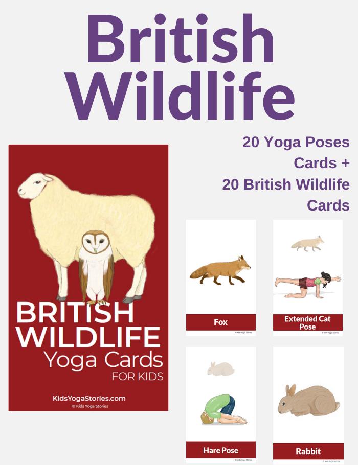 British Wildlife Yoga for Kids | Kids Yoga Stories