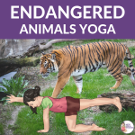 5 Endangered Animals Yoga Poses for Kids | Kids Yoga Stories
