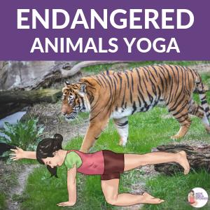 5 Endangered Animals Yoga Poses for Kids | Kids Yoga Stories