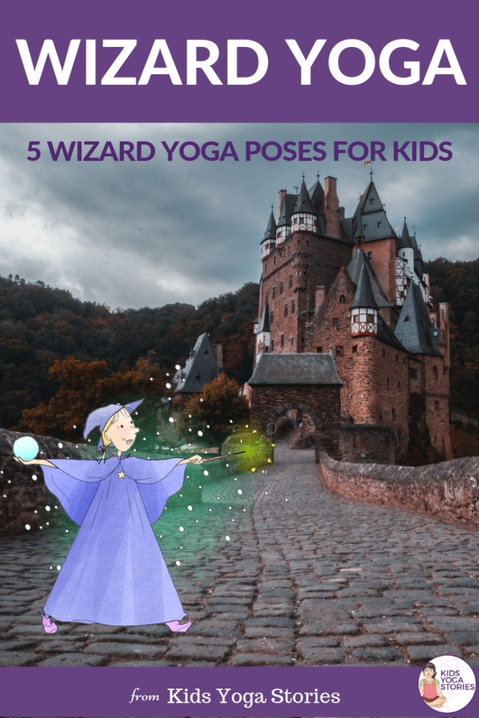 wizard and witch yoga for kids | Kids Yoga Stories