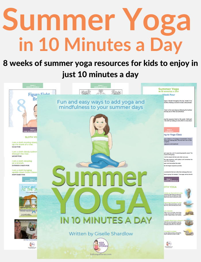 Summer Yoga in 10 Minutes a Day | Kids Yoga Stories