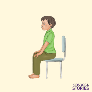 chair yoga poses for kids | Kids Yoga Poses
