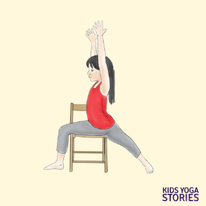 40 Kid Friendly Chair Yoga Poses Kids Yoga Stories Yoga Resources For Kids