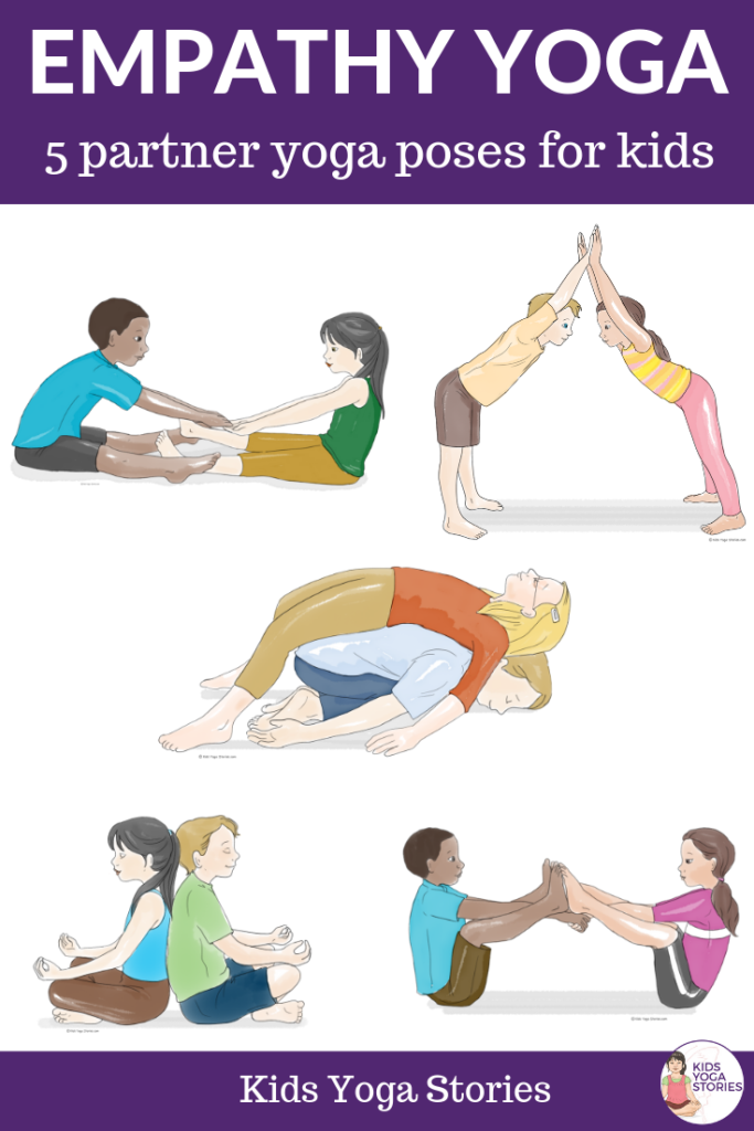 Empathy Yoga Poses for Kids,Partner poses for kids | Kids Yoga Stories