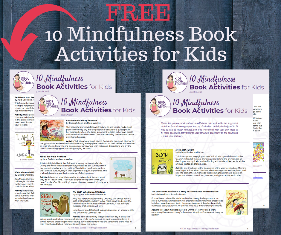 free mindful activities for kids