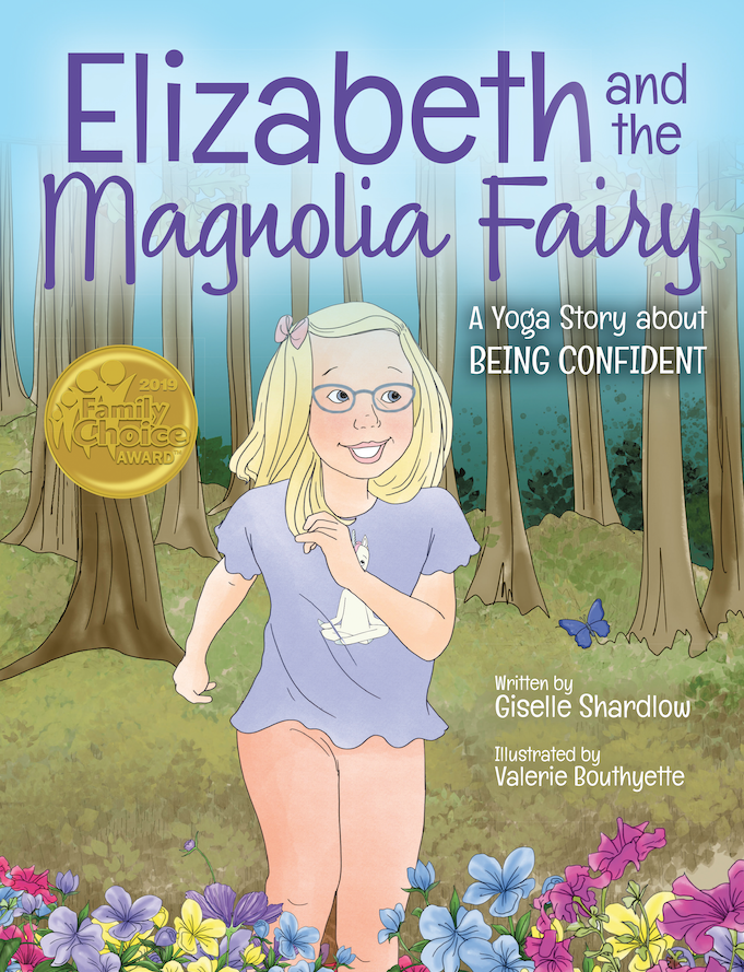 Elizabeth Magnolia Fairy Yoga Book for Kids | Kids Yoga Stories