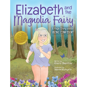 Elizabeth Magnolia Fairy yoga book for anxiety in kids | Kids Yoga Stories