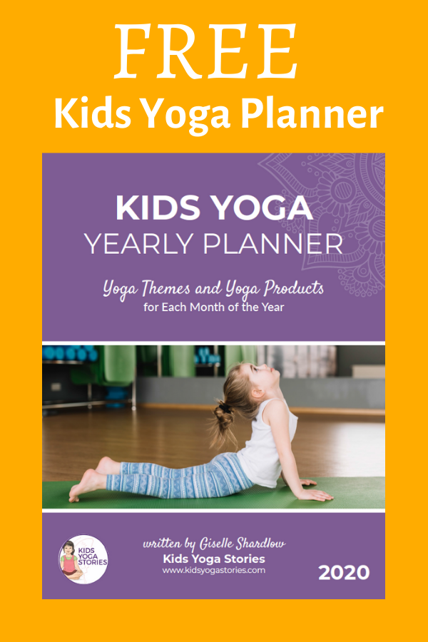 kids yoga planner 2020 | Kids Yoga Stories