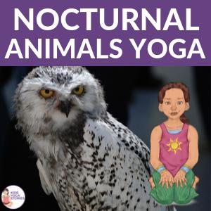 night animals yoga | Kids Yoga Stories