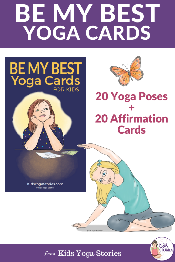 be my best yoga cards for kids | kids yoga stories