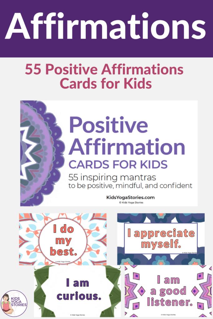 positive affirmations for kids | Kids Yoga Stories