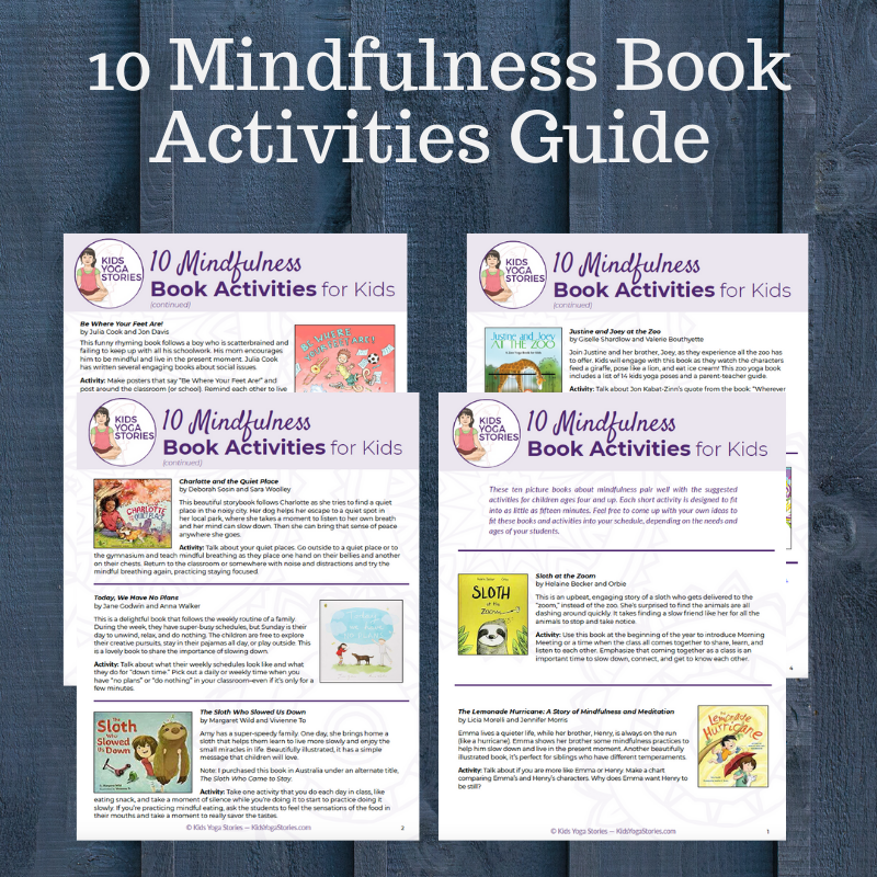 mindfulness activities for kids | Kids Yoga Stories