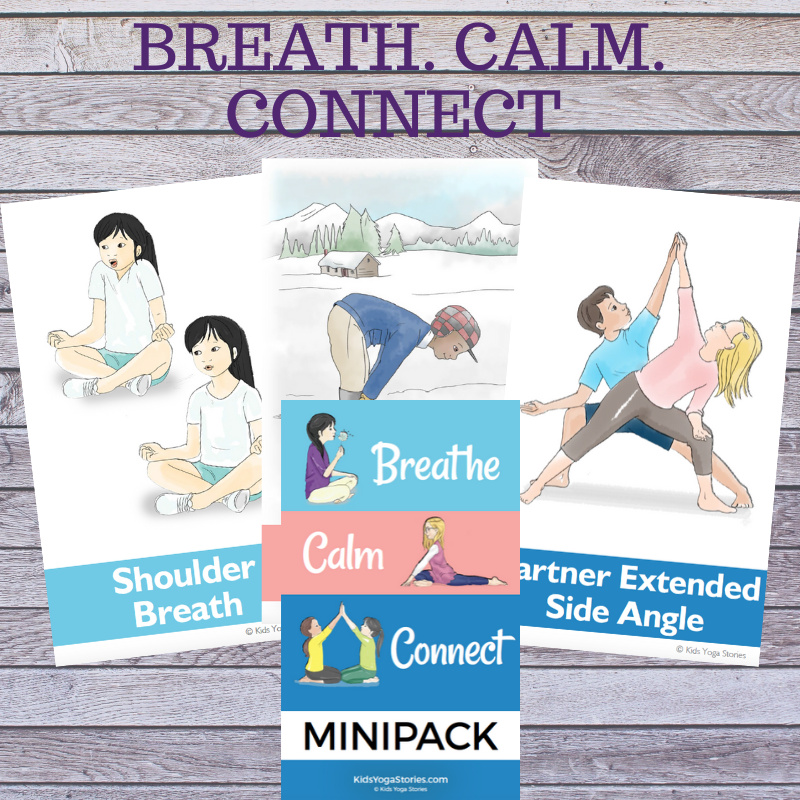 breathing cards and posters | Kids Yoga Stories