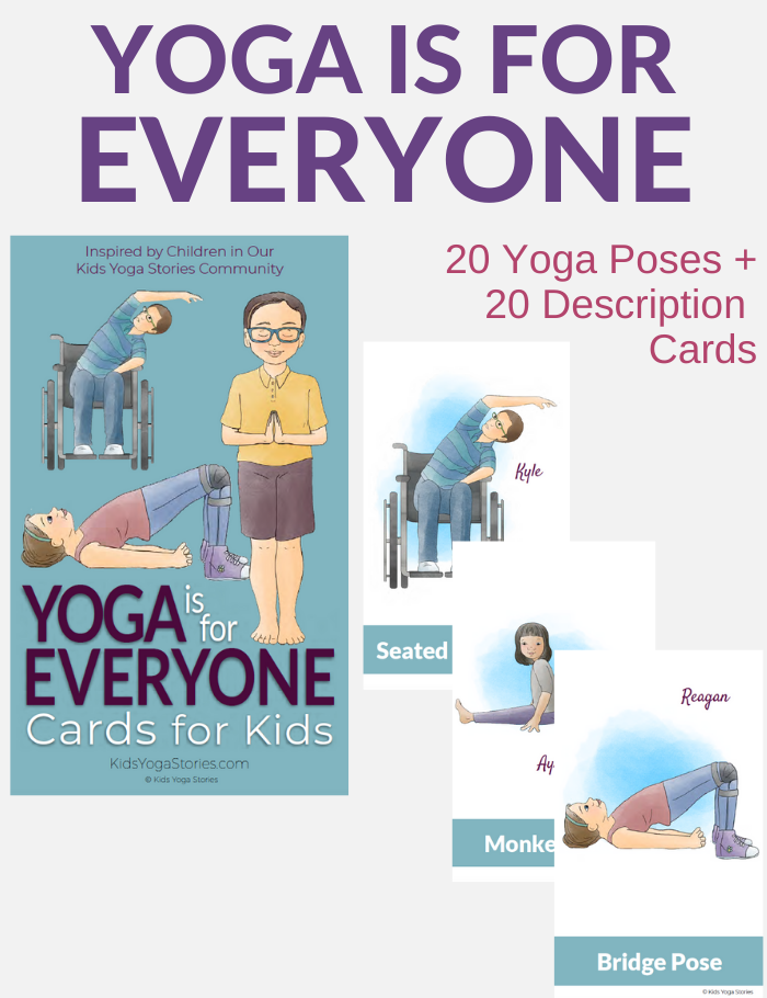 yoga for everyone, yoga for special needs | Kids Yoga Stories