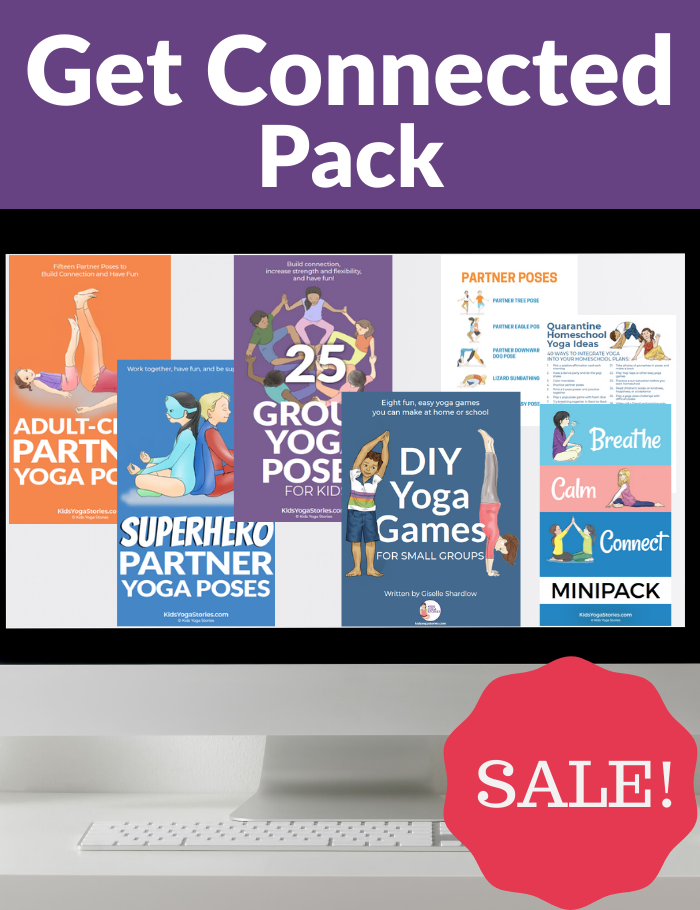 get connected with your kids pack | Kids Yoga Stories