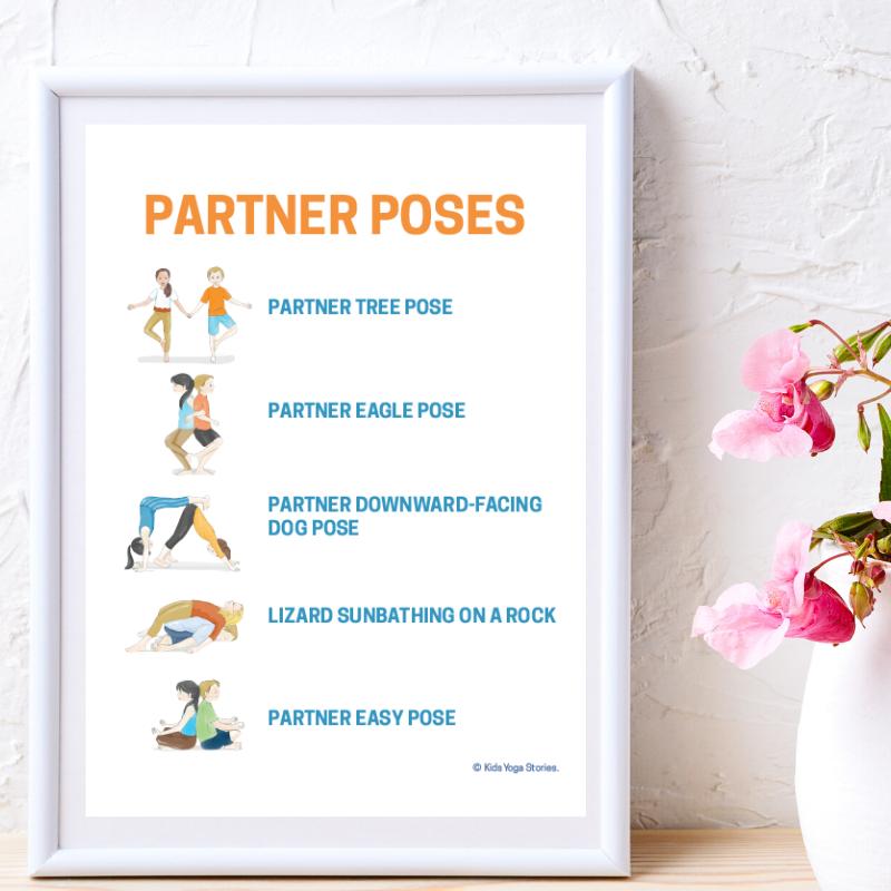 partner yoga poses for kids | Kids Yoga Stories
