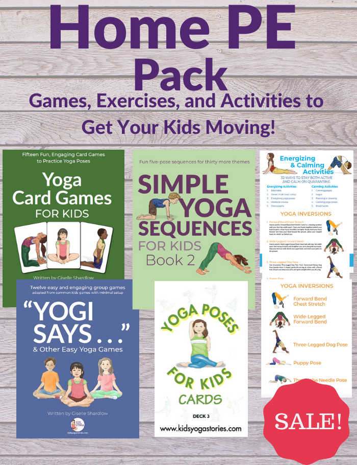 Home PE ideas for kids | Kids Yoga Stories