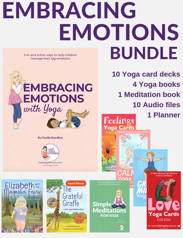 managing emotions with yoga | Kids Yoga Stories