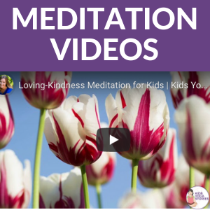 Meditation videos for kids to calm and ease anxiety | Kids Yoga Stories