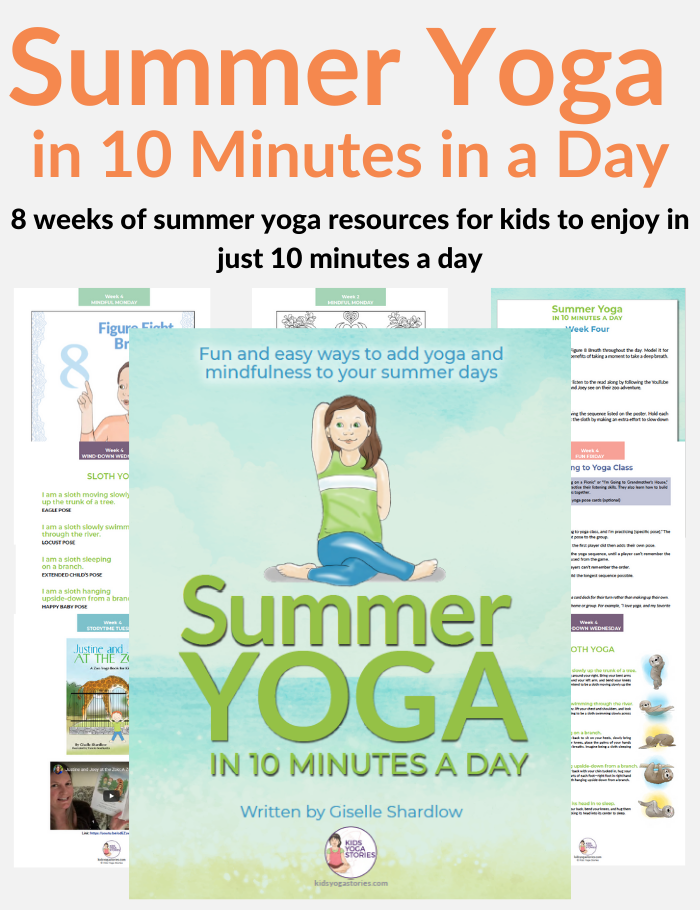 summer yoga in 10 minutes | Kids Yoga Stories