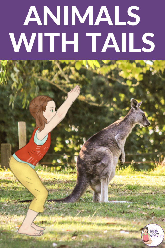 animal yoga poses, animals with tails poses | Kids Yoga Stories
