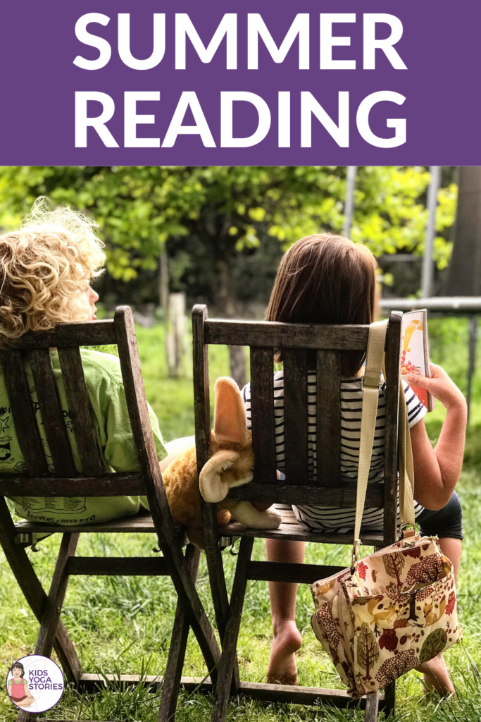 summer reading 2020 books and ideas | Kids Yoga Stories