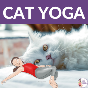 Express Yourself through Cat Yoga, Cat Yoga Poses for Kids | Kids Yoga Stories