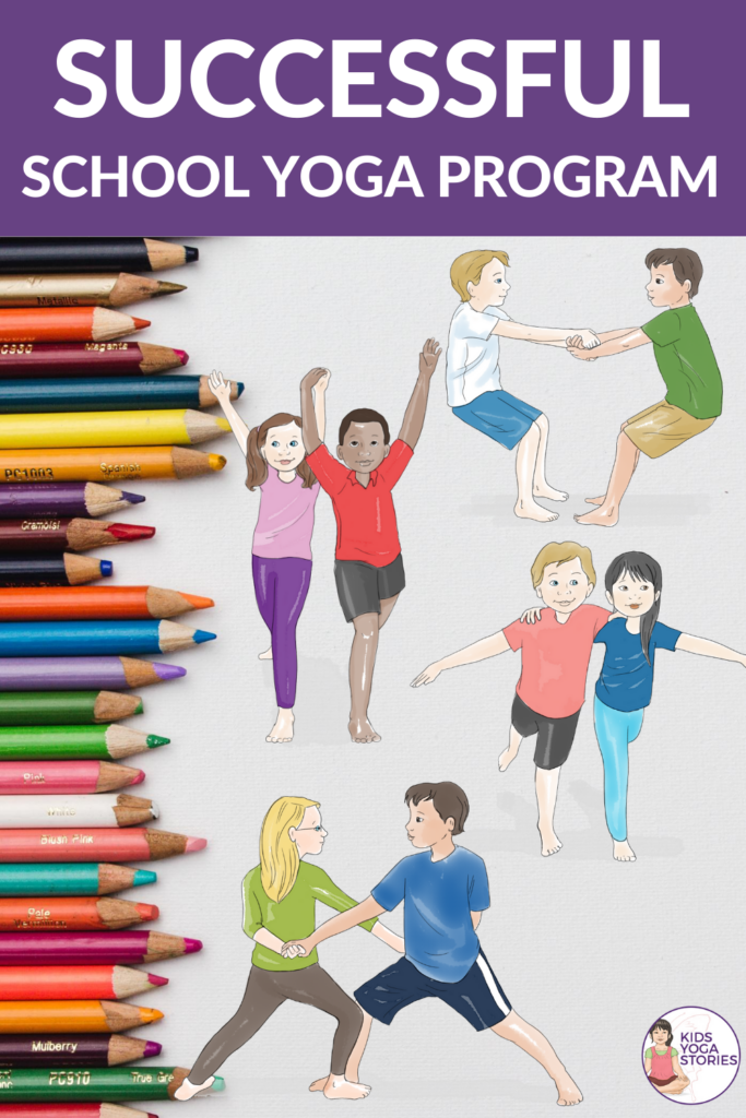 how to success with school yoga, classroom yoga, yoga in the classroom. | Kids Yoga Stories