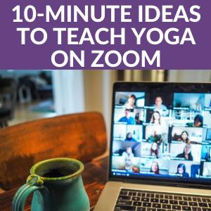 10minute ideas to teach yoga on zoom  kids yoga stories