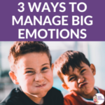 3 Ways to Handle Big Emotions + Free Printables | Kids Yoga Stories