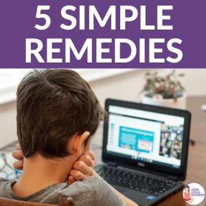 5 Simple Remedies Excess Screen | Kids Yoga Stories