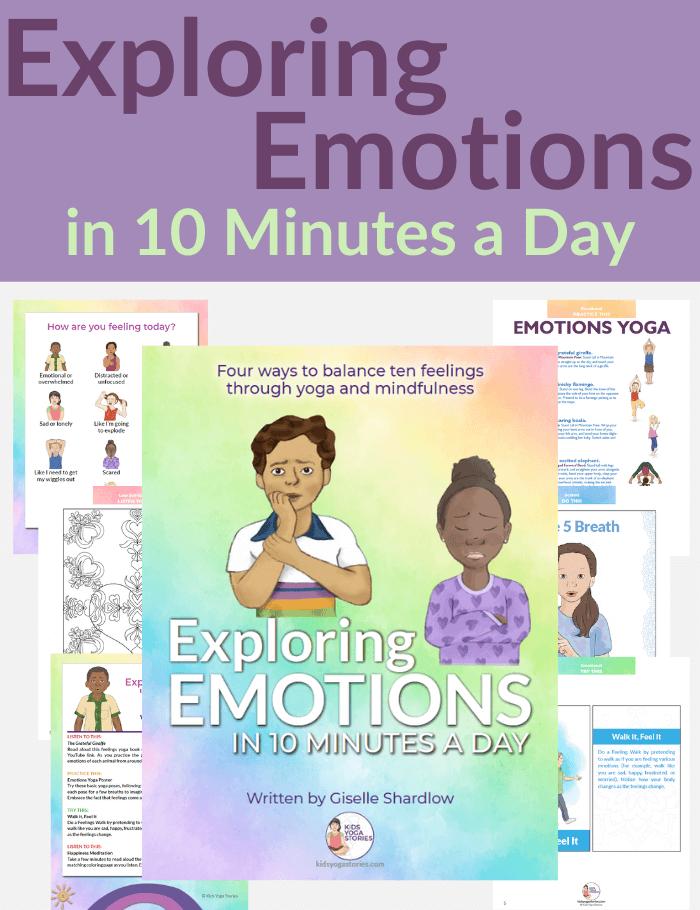 exploring emotions for children | Kids Yoga Stories