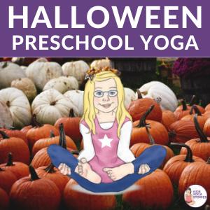 Halloween yoga ideas preschool yoga | Kids Yoga Stories