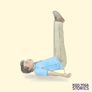 5 restorative yoga poses for kids teens and grownups to