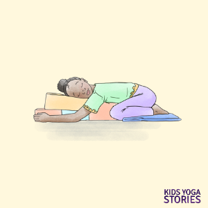 Restorative Yoga Poses for Teens and Kids | Kids Yoga Stories