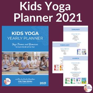 Kids Yoga Planner 2021 | Kids Yoga Stories