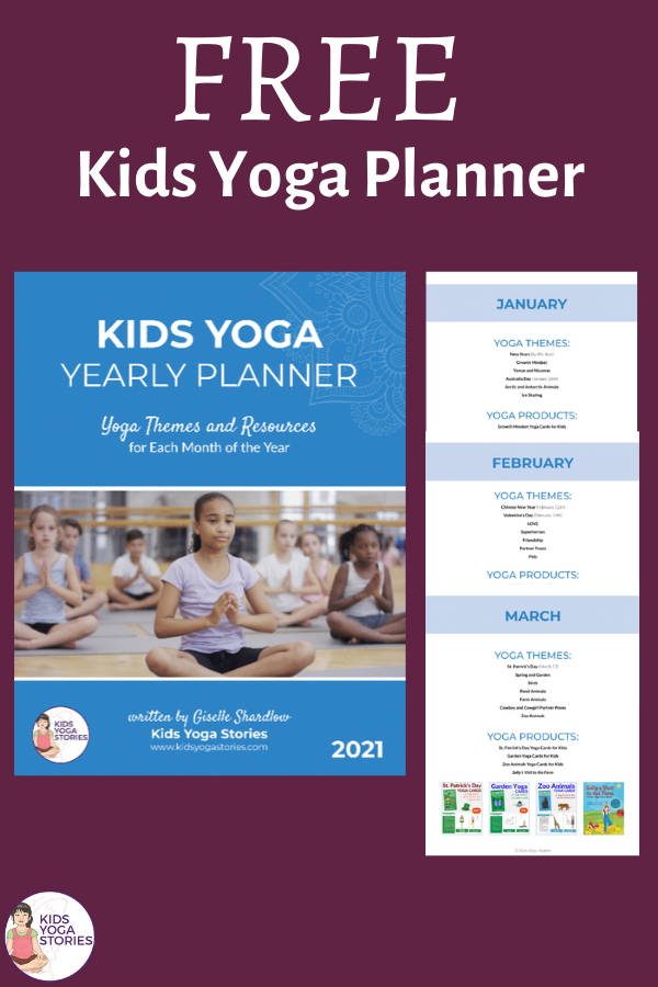Kids Yoga Planner 2021  Free Download | Kids Yoga Stories