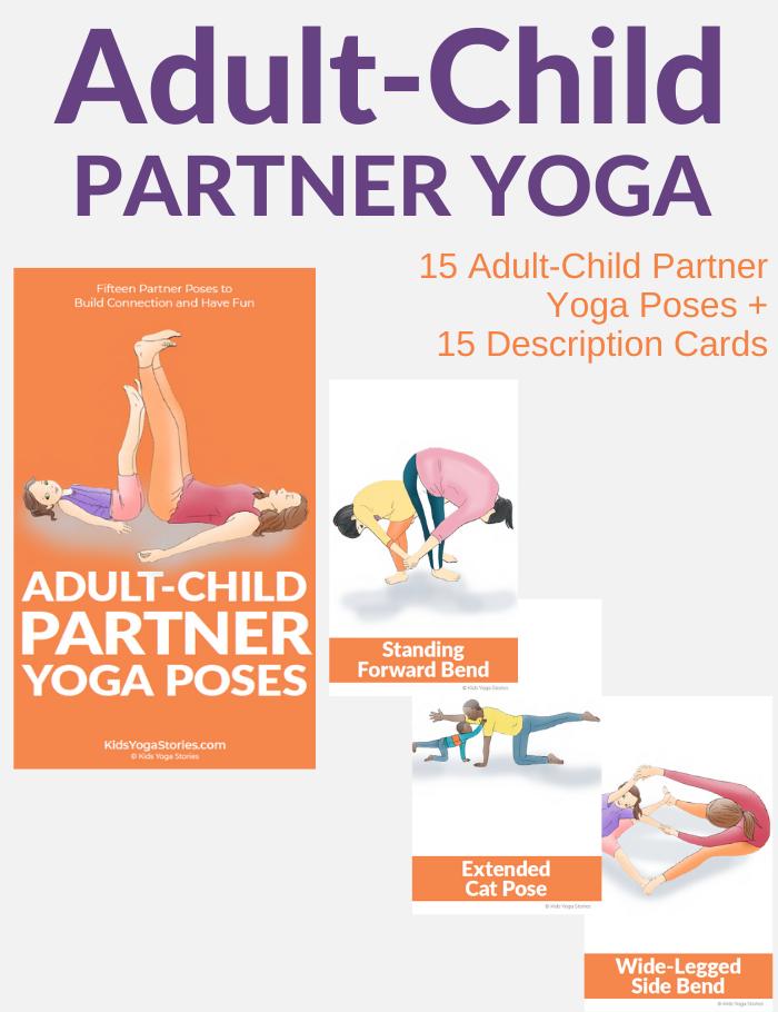 adult-child-partner-yoga-cards | Kids Yoga Stories