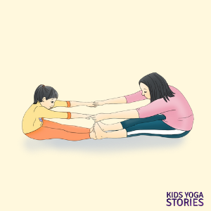 adult-child-yoga poses for kids | Kids Yoga Stories