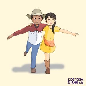 cowboy cowgirl yoga poses | Kids Yoga Stories