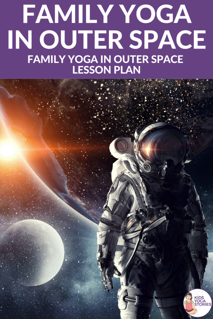 family yoga in outer space   Kids Yoga Stories