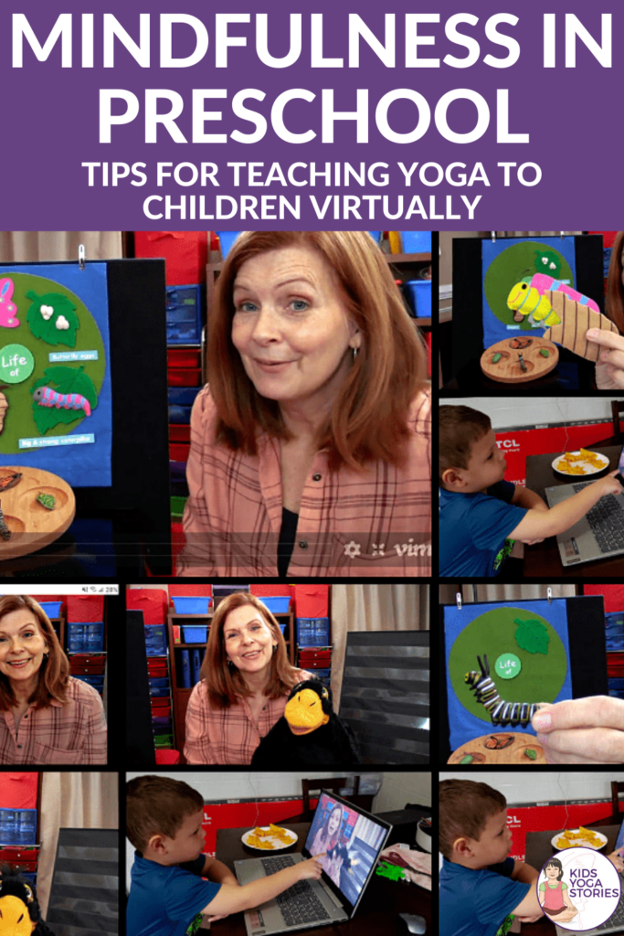 Mindfulness in Preschool: Tips for Teaching Yoga to Children Virtually