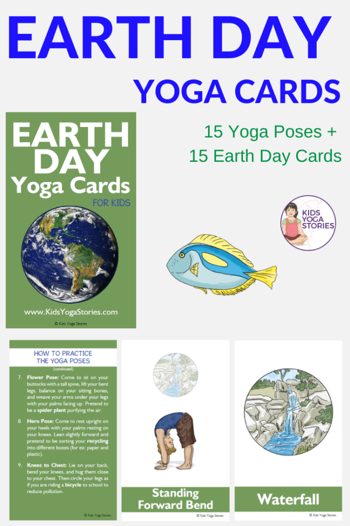 Earth Day Yoga Cards for Kids | Kids Yoga Stories