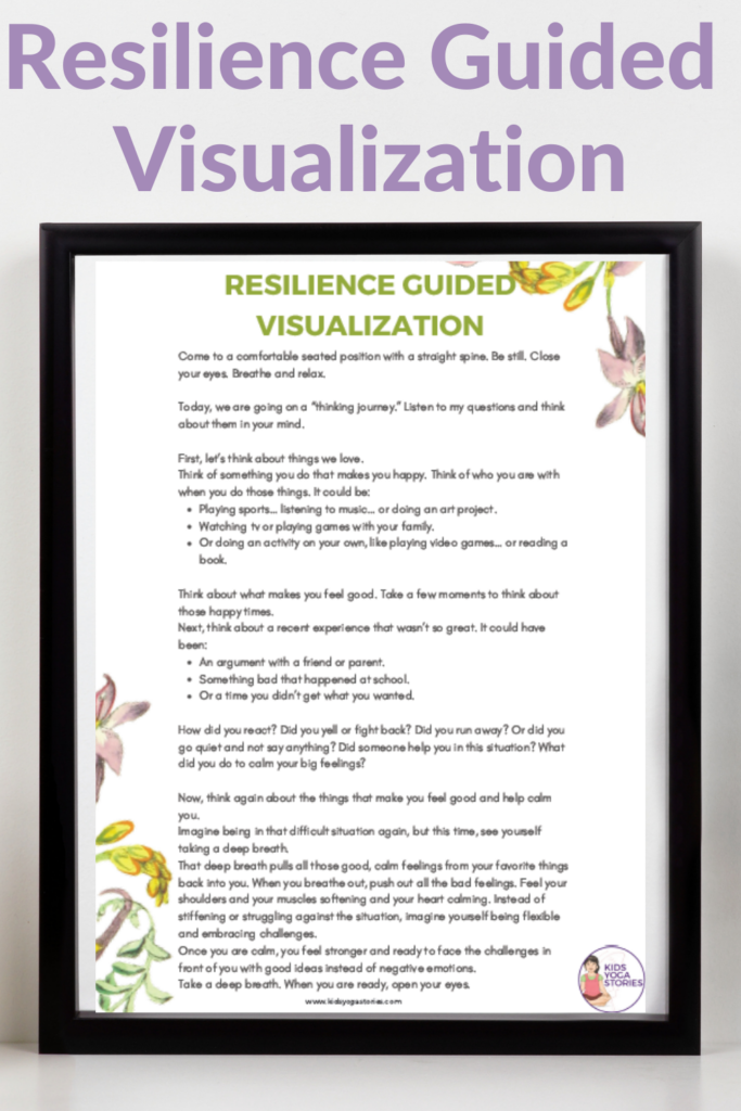 Resilience Guided Visualization] Be resilient in our thoughts…