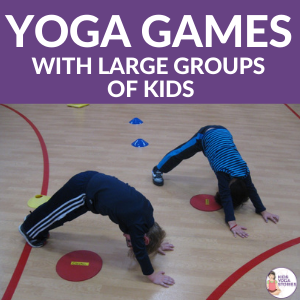 Yoga Games for large groups of kids