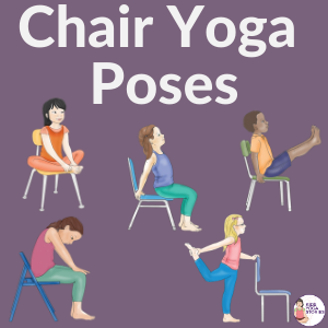chair yoga poses for kids | kids Yoga Stories