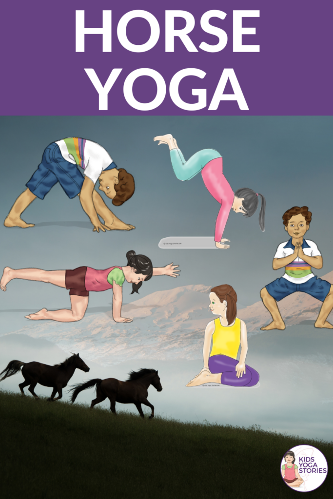 Horse Yoga Poses for Kids